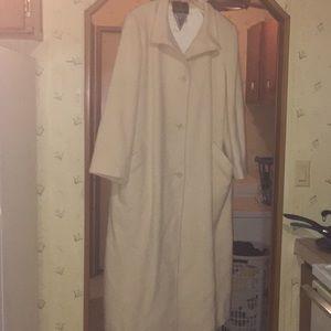 Marvin Richards Vintage 100% Cashmere Trench Coat
